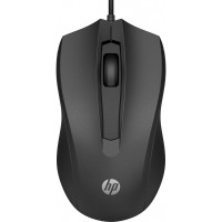 HP Мышь 100 USB Black