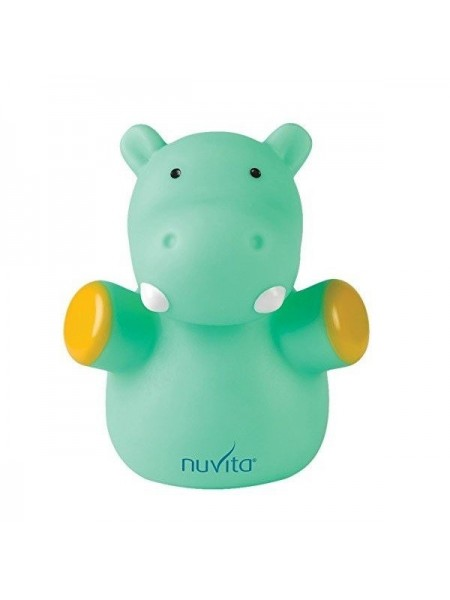 Дитячий нічник Nuvita Гіпопотам 0м+ 12см NV6607
