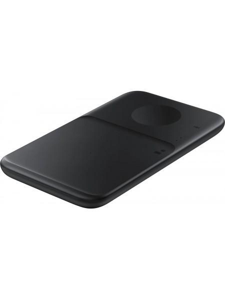 Бездротовий зарядний пристрій Samsung Wireless Charger Duo (with TA) Black (EP-P4300TBRGRU)
