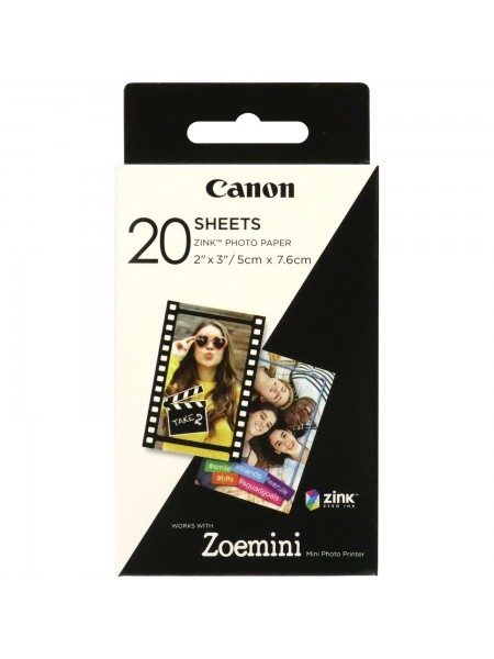 "Папір Canon ZINK™ 2""x3"" ZP-2030 20 арк. (3214C002)"