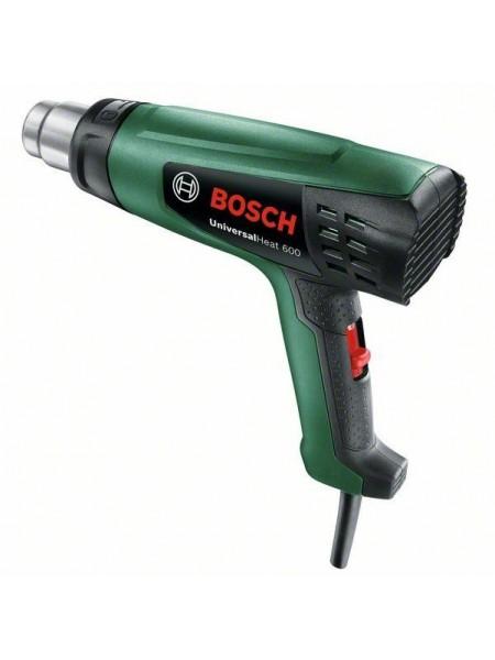 Фен будівельний Bosch UniversalHeat 600, 1800Вт, 200/350/500л/хв, 50/300/600°C, 0.53 кг (0.603.2A6.1