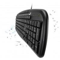 Клавиатура проводная USB Black UKR Genius KB-M225 (31310479108)