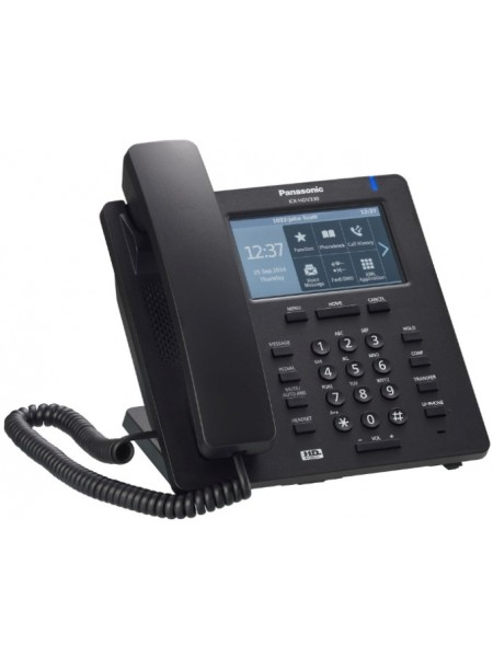 Дротовий IP-телефон Panasonic KX-HDV330RUB Black