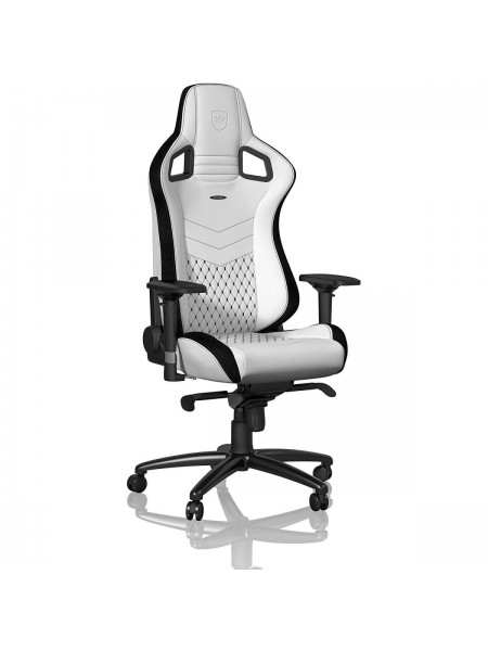 Крісло геймерське Noblechairs EPIC White/Black (NBL-PU-WHT-001)