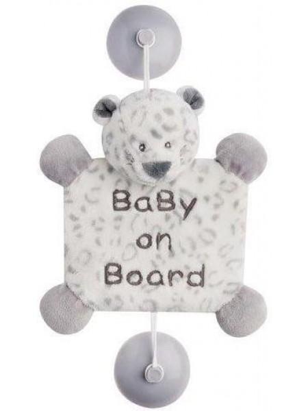 Nattou Іграшка Дитина на борту на присосках леопард Лея 963442