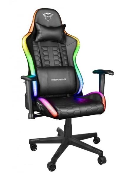 Ігрове крісло Trust GXT 716 Rizza RGB BLACK