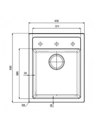 Кухонні мийки Sirius SID 610-40