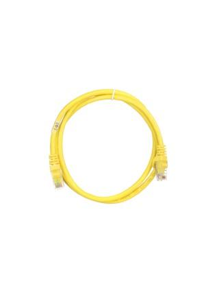 Патч-корд 2E Cat 6,UTP,RJ45, 26AWG ,7/0.16 Cu, 1.00 m, PVC,Yellow