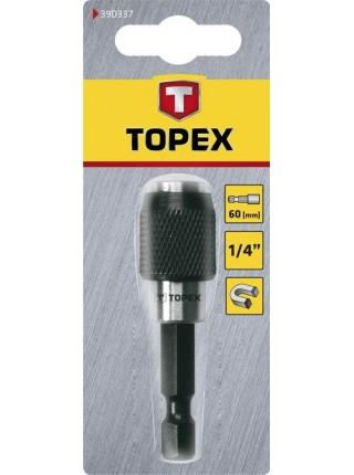 """Тримач насадок TOPEX 39D337 1/4 """", 60 мм"""