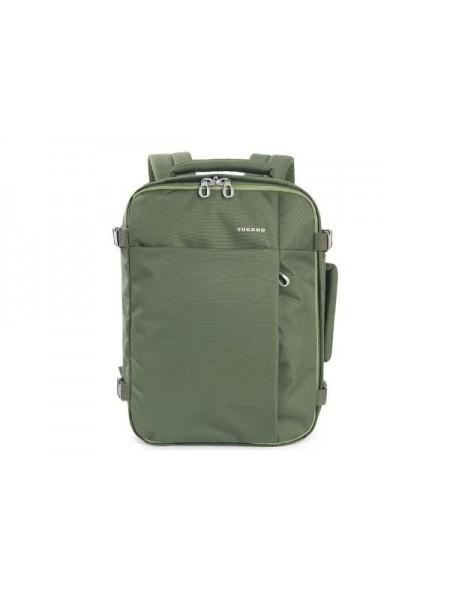 Рюкзак дорожній Tucano TUGO' M CABIN 15.6 (зелений) (BKTUG-M-V)