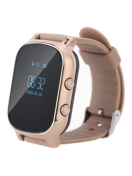 Дитячий GPS годинник-телефон GOGPS ME К20 Золотий (K20GD)