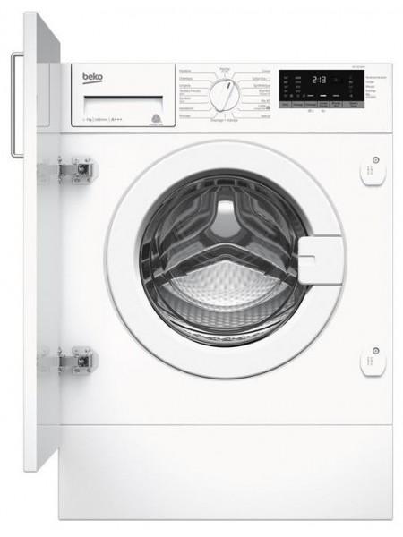 Вбудовувана пральна маш. Beko WITC7612B0W - 55см./7 кг./1200 об/15 програм/LED дисплей/А+++