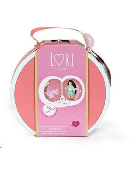 Кейс для ляльок LORI DELUXE з аксесуарами (кораловий) LO37008
