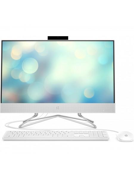 Персональний комп'ютер-моноблок HP All-in-One 23.8FHD IPS AG/Intel i5-10400T/8/256F/int/kbm/DOS/Whit