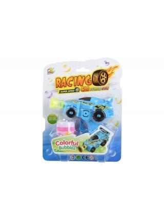 Мильні бульбашки Same Toy Bubble Gun Машинка Блакитна 701Ut-2