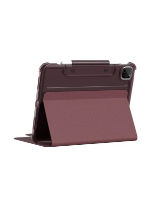 """Чохол UAG [U] для Apple iPad Air 10.9"""" (2020) / iPad Pro 11"""" (2021) Lucent, Aubergine/Dusty Rose"""