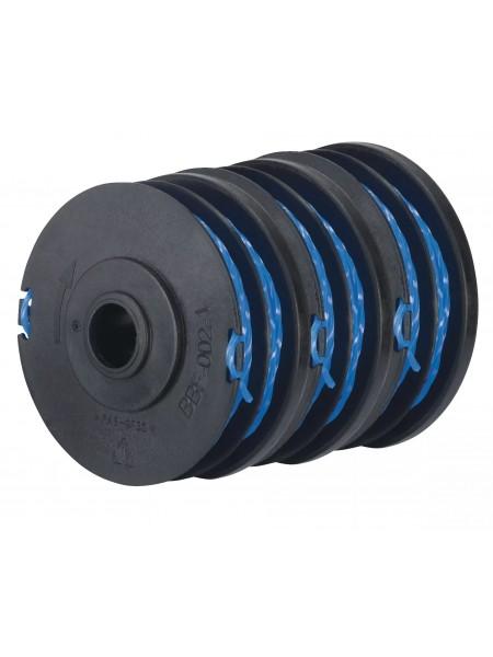 Шпуля для тримера Ryobi RAC123 1.5мм 3шт (RLT4027;RLT4125;RLT5027;RLT6030; RLT6130) (5132002671)