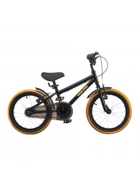 Дитячий велосипед Miqilong ST Чорний 16` ATW-ST16-BLACK