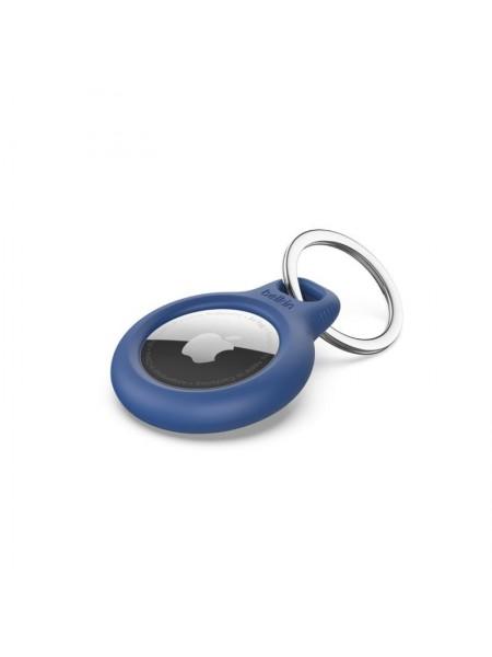 Тримач Belkin Secure Holder with Key Ring AirTag, blue (F8W973BTBLU)