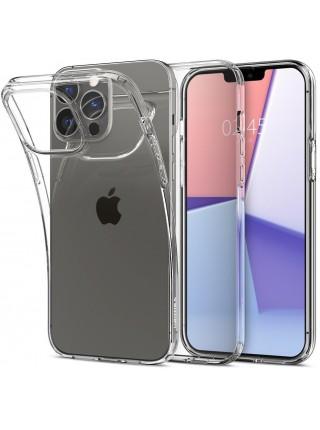 Чохол Spigen для Apple iPhone 13 Pro Max Liquid Crystal, Crystal Clear