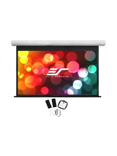 """Екран моторизованний настінний SAKER 150"""" Elit Screens SK150NXW2-E6"""