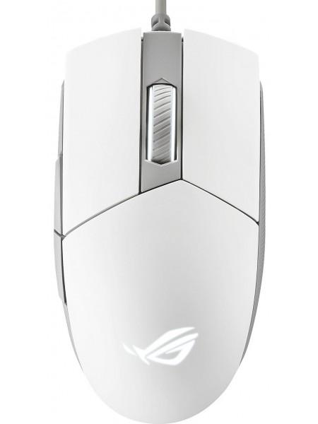 Миша ігрова ASUS ROG STRIX IMPACT II ML USB RGB White