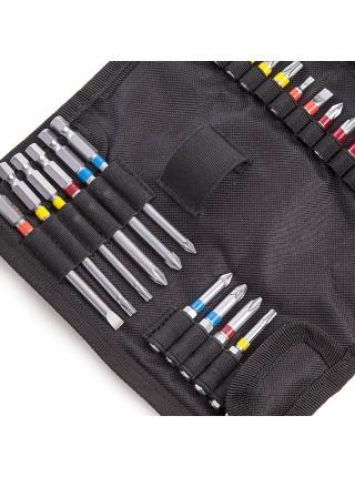 Викруток набір Metabo (30 шт.): руків'я-тримач біт + біти 25 мм - 16 шт.; 50 мм - 7 шт.; 89 мм - 6 ш