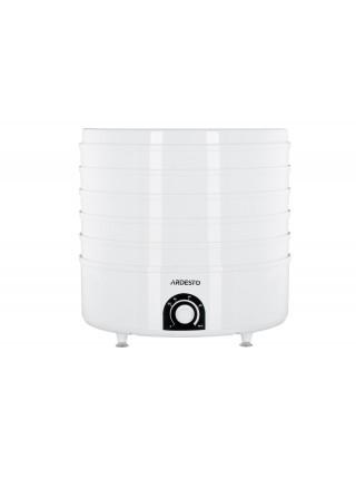 Сушка для продуктів Ardesto FDB-5385 - 520Вт/ 5 піддонів вис. 4см/ діаметр 38,5см/ рег. темп./ біла