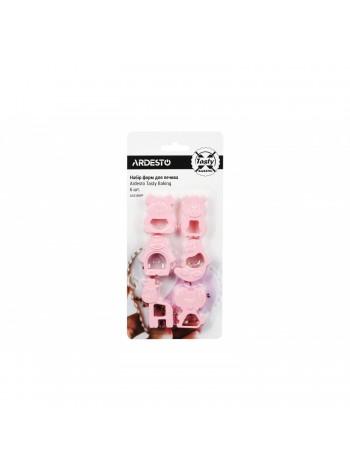 Набір форм для печива Ardesto Tasty Baking, 6 шт., тифани,пластик (AR2309TP)