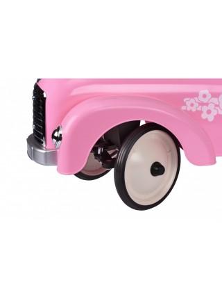 Толокар goki Ретро машина рожева 14161G