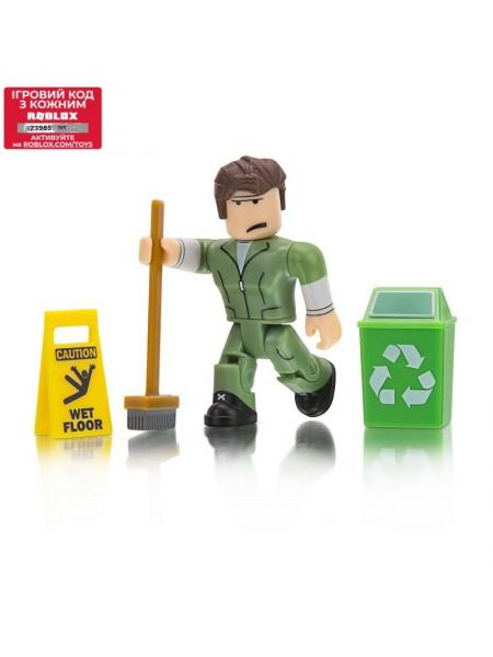Ігрова колекційна фігурка Jazwares Roblox Сore Figures Welcome to Bloxburg: Glen the Janitor W3