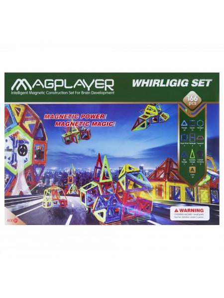Дитячий конструктор MagPlayer 166 од. (MPA-166)