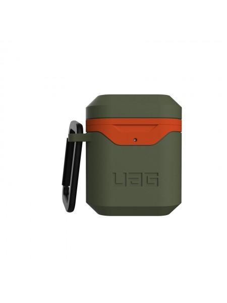 Чохол UAG для Apple Airpods Std. Issue Hard 001 (V2), Olive/Orange (10242F117297)