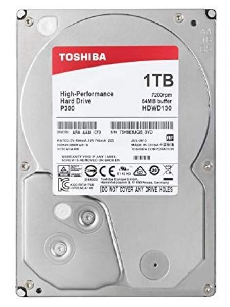 "Жорсткий диск Toshiba 3.5"" SATA 3.0 1TB 7200 64MB P300 (HDWD110UZSVA)"