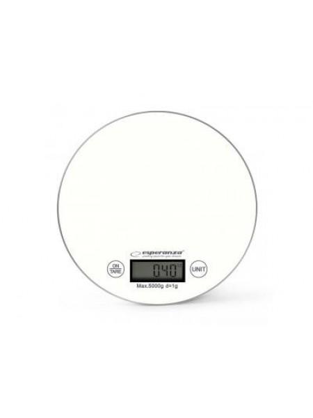 Ваги кухонні Esperanza Scales EKS003W White