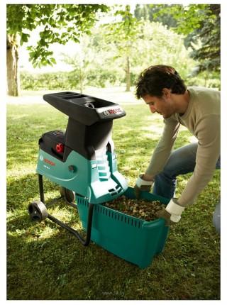Подрібнювач садовий Bosch AXT 25 D малошумний, 40мм, 2.5 кВт, 31.3 кг (0.600.803.100)