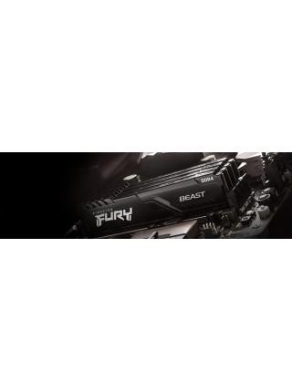 Пам'ять до ПК Kingston DDR4 3733 8GB FURY Beast Black