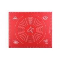 Килимок для випікання Ardesto Golden Brown 50*60 см, червоний, силіконовий (AR2406SR)