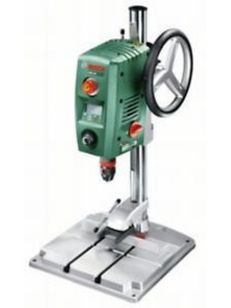 Верстат свердлильний Bosch PBD 40, 710 Вт, підйом 90 мм, плита 33х35х3см, максO сталь/дерево 13/40 м