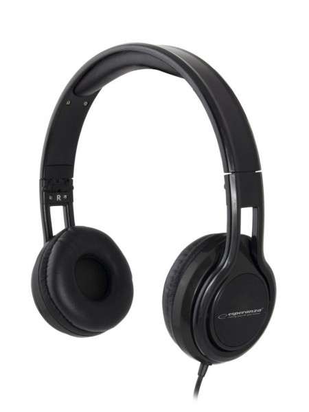 Навушники з мікрофоном Esperanza Headset EH211K