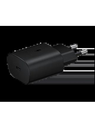 Мережевий зарядний пристрій Samsung 25W Super Fast Charging (w/o cable) Black (EP-TA800NBEGRU)