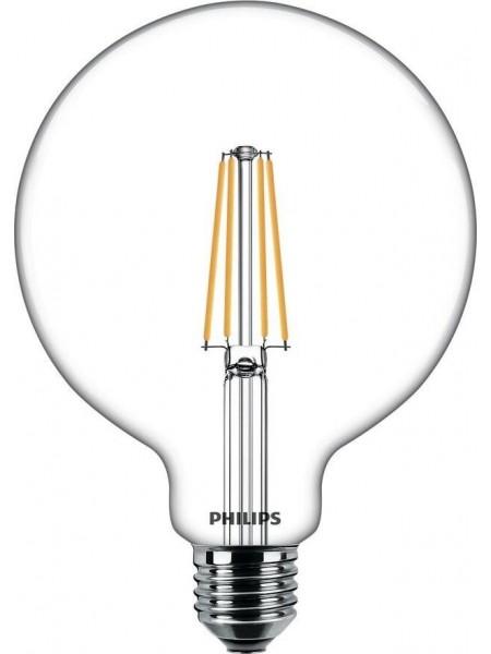 Лампа світлодіодна Philips LEDClassic 6-60W G120 E27 830 CL NDAPR
