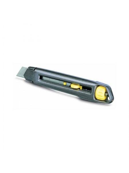 Нож STANLEY Interlock 18мм , сегментированое лезвие 165мм, метал