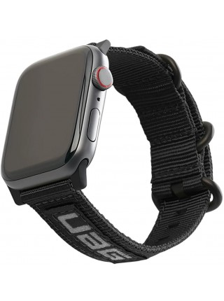 Ремінець UAG для Apple Watch 40/38 Nato Eco, Black (19149C434040)