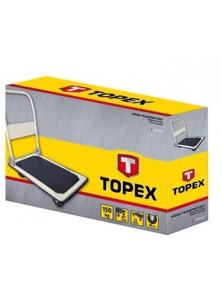 Візок вантажний TOPEX, до 150 кг, 72x47х82 см, 8,9 кг. (79R301)