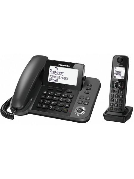 Радіотелефон DECT Panasonic KX-TGF320UCM Black