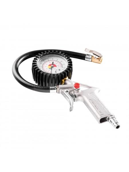 Пістолет NEO для підкачки шин з манометром D 63мм