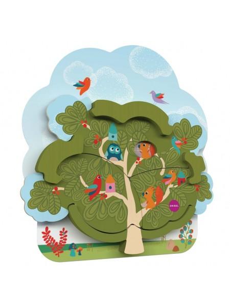 Настінна іграшка Oribel Veritiplay Будинок містера Білки на дереві OR801-90001