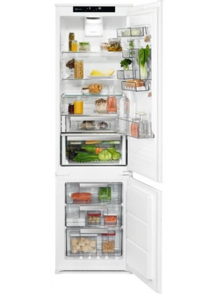 Вбуд. холодильник с мороз. камерою Electrolux LNS9TD19S, 188.4х55х55см, 2 дв., Холод.відд. - 207л, М