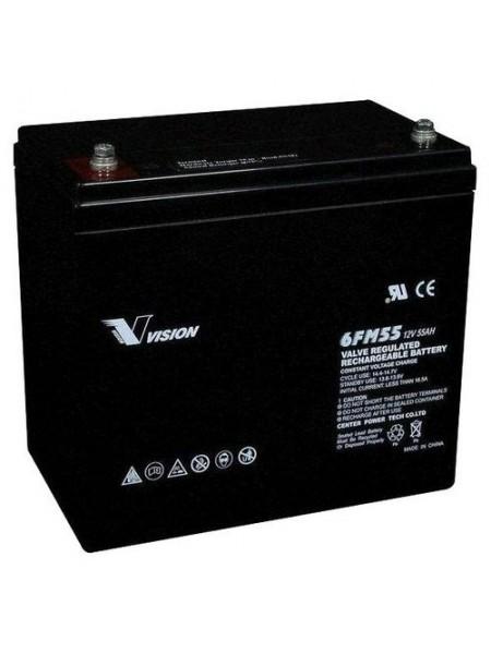 Акумуляторна батарея Vision FM 12V 55Ah